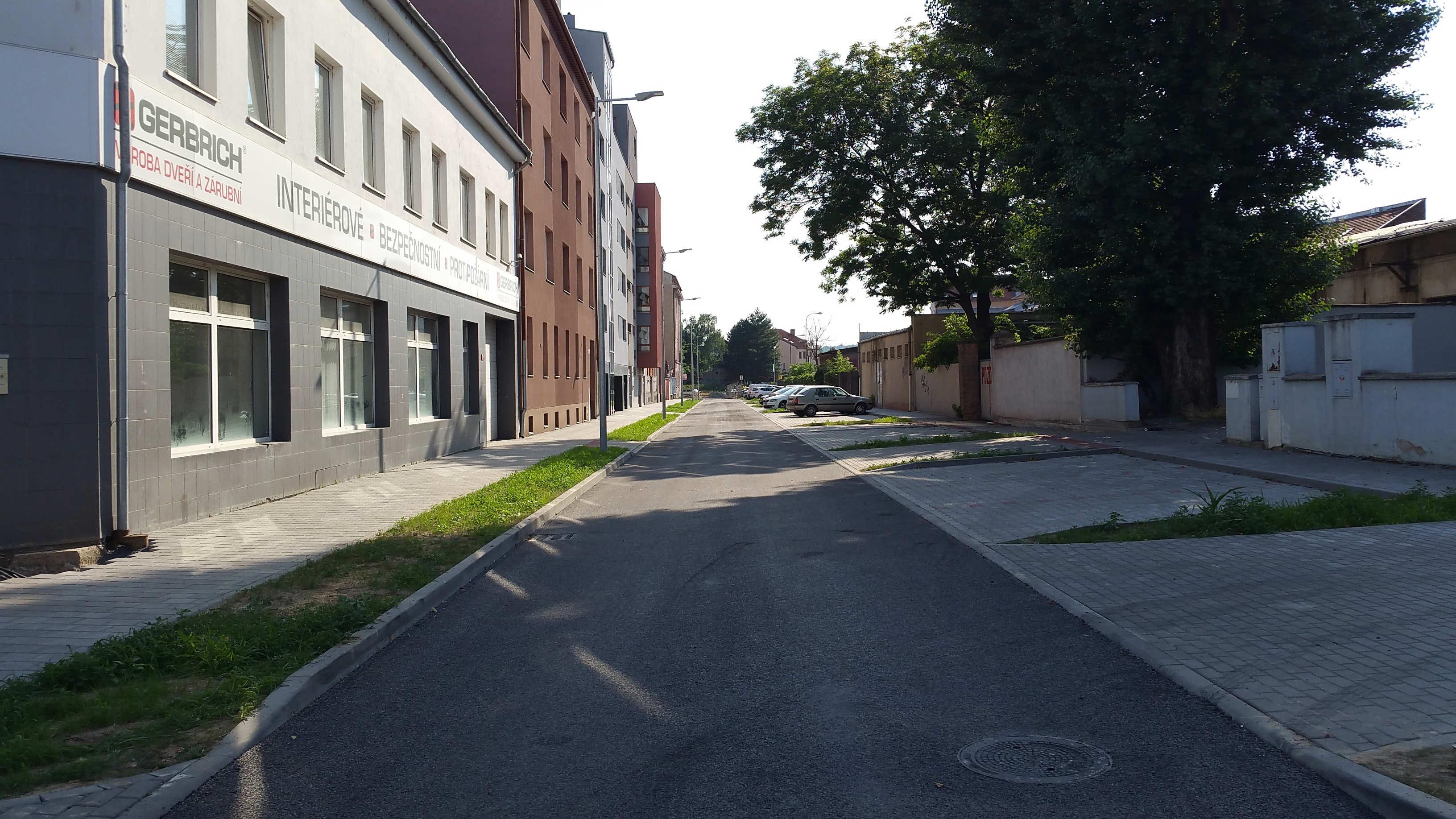 Ulice Kovářská v Brně
