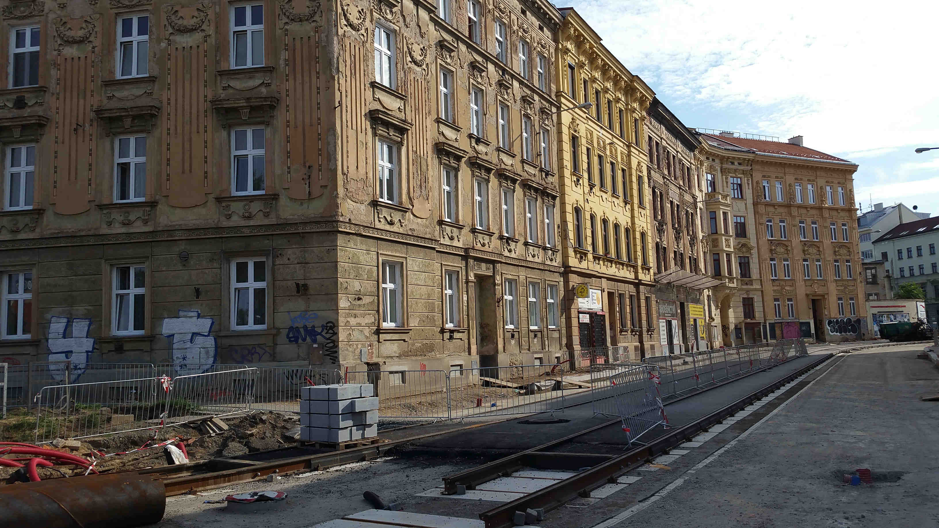 Ulice Cejl v Brně