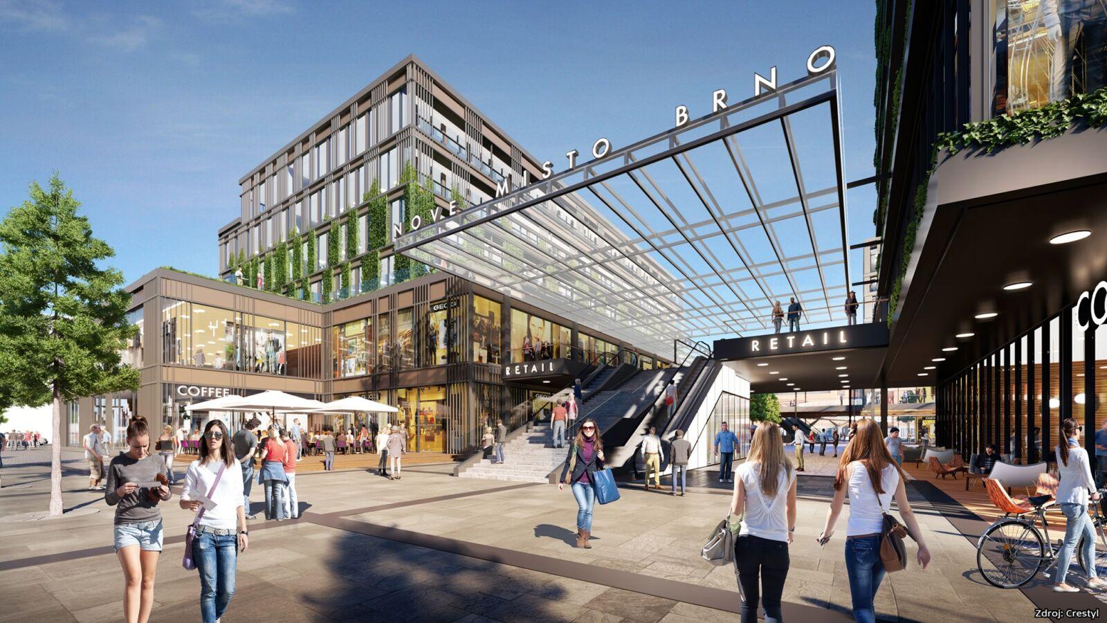 Obchodní centrum Dornych