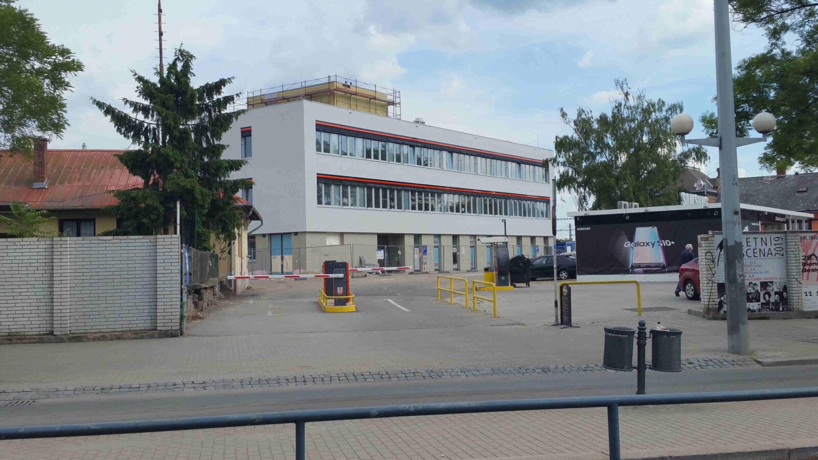 Nová budova řízení provozu SŽDC v Brně
