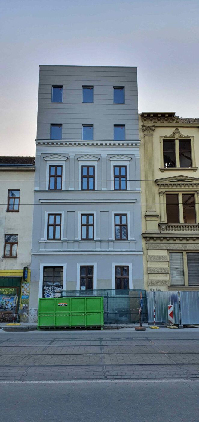 Lidická ulice v Brně