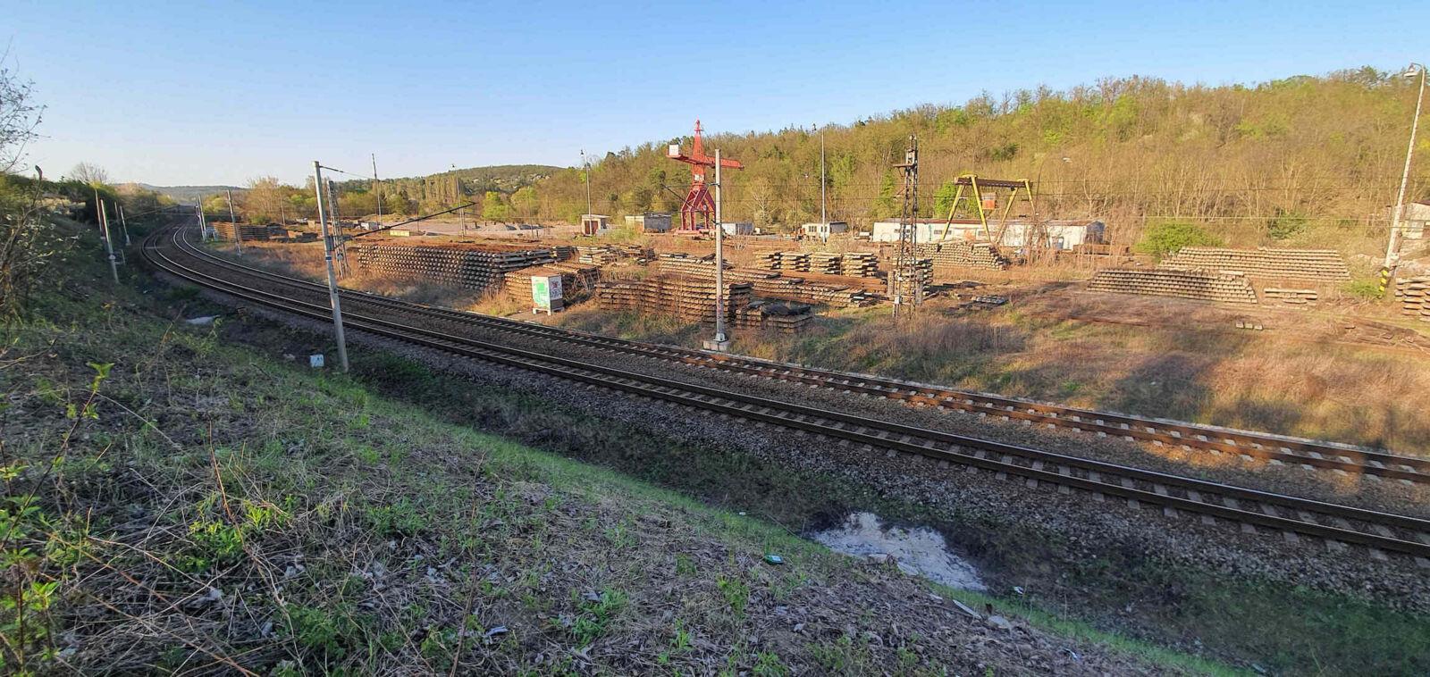 Odpojení brněnské podzemky z hlavní trati od Tišnova