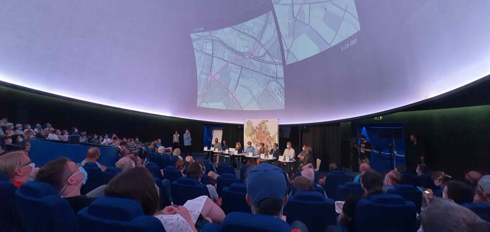 Veřejné projednávání územního plánu města Brna