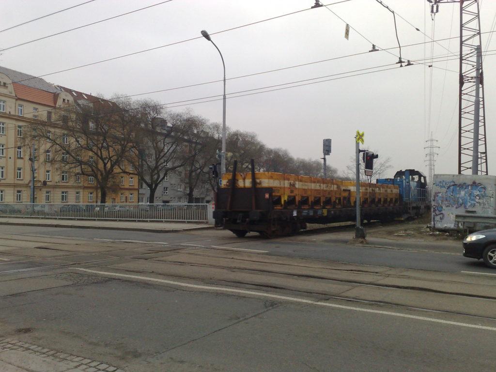 Vlak v Brně