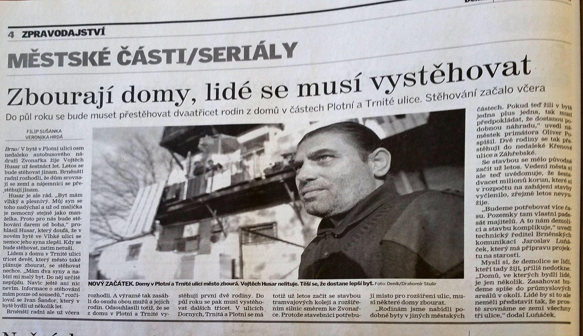 Šalina Plotní - Deník 2.června 2008
