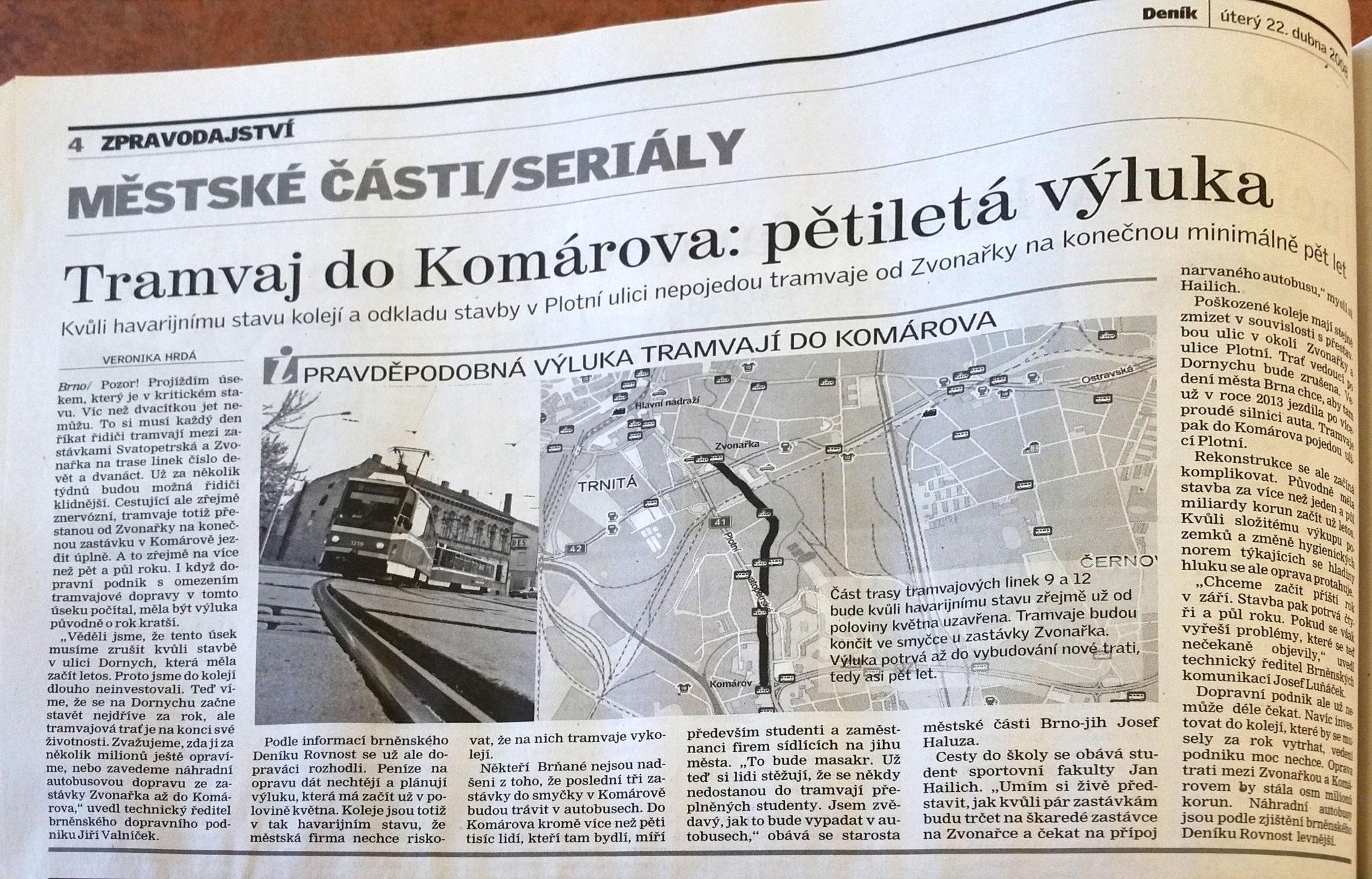 Šalina Plotní - Deník 22.dubna 2008
