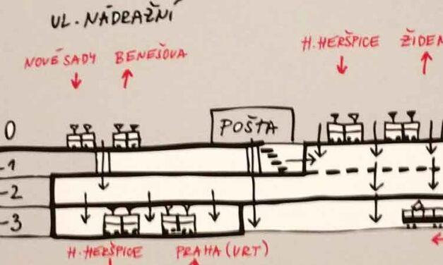 Nové nádraží Pod Petrovem 2014