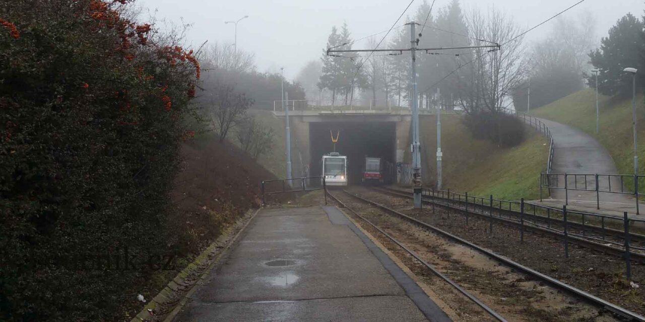 Podpovrchová šalina – Tramvajová rychlodráha v Brně: Sen a skutečnost
