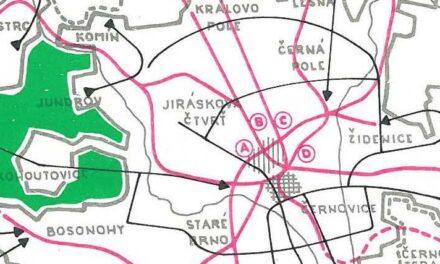 Vývoj dopravy v Brně 1980 – 2000: Plány a skutečnost