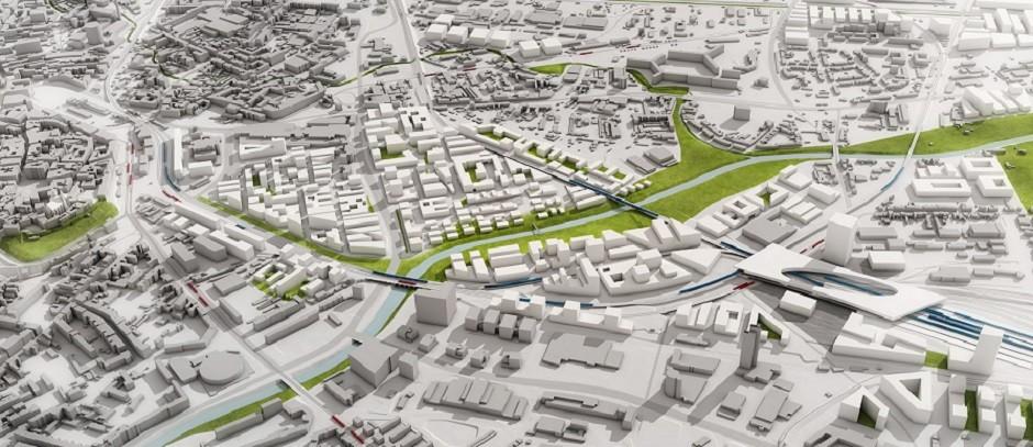 Hnutí ANO navrhuje další variantu pro umístění brněnského nádraží: až na jihu