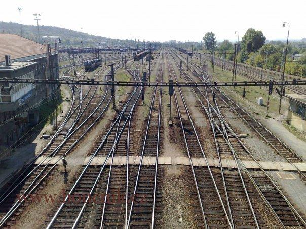 Maloměřické seřaďovací nádraží, 2009