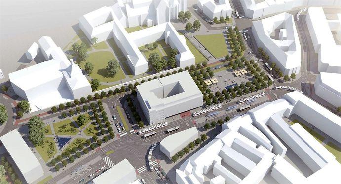 Vizualizace Mendlova náměstí