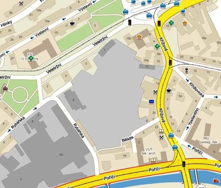 Mendlák: území pro budoucí Mendel Plaza