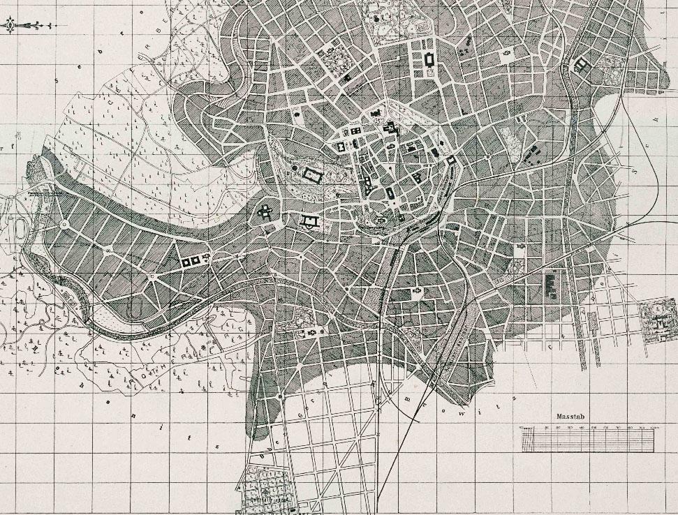 Územní plán města Brna z roku 1902