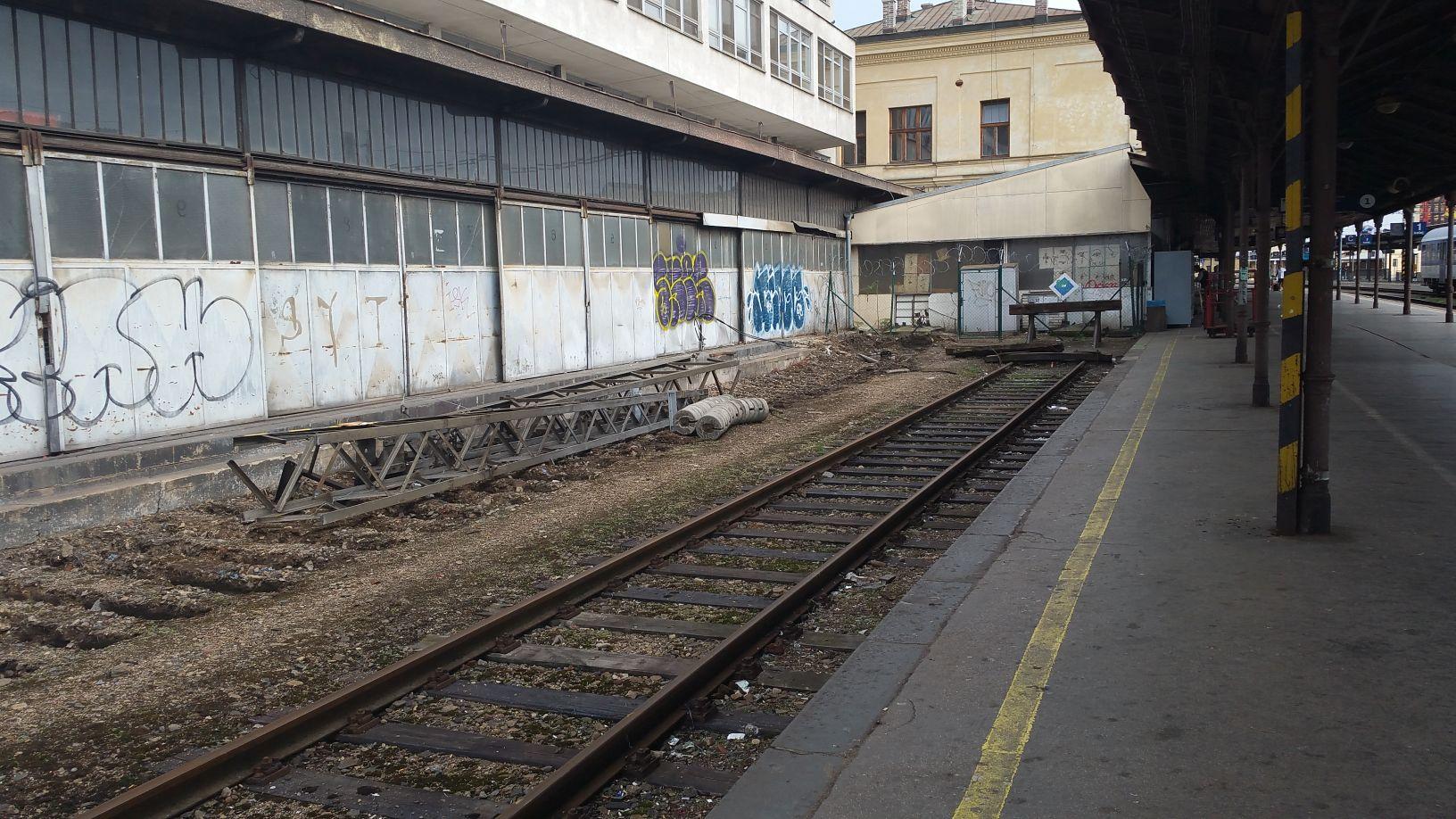 Pošta u horního (hlvního) nádraží