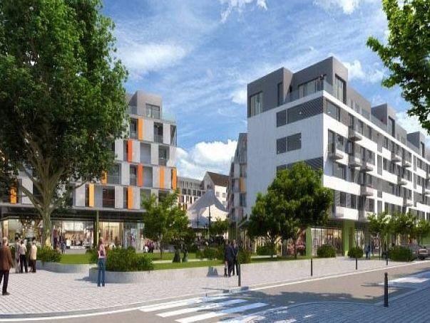 Nové domy na Veveří