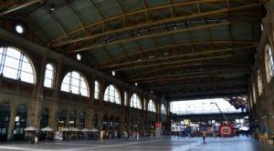 Na nádraží v Curychu