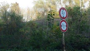 Omezení na silnici