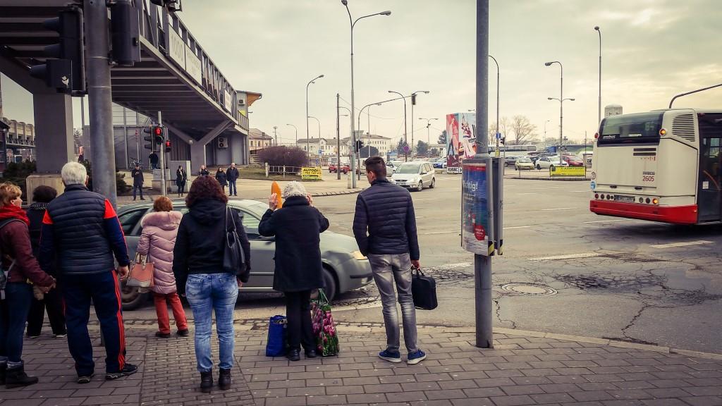 Autobusové nádraží Zvonařka
