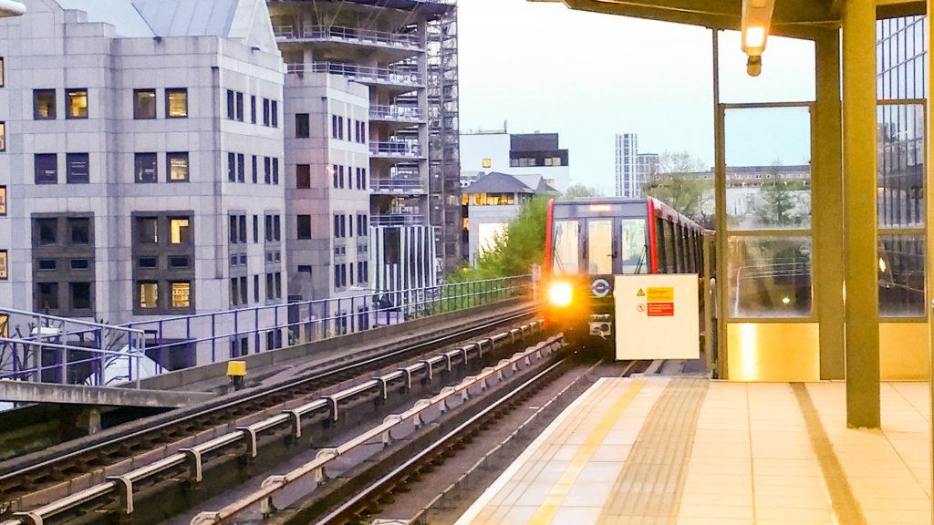 Londýnské lehké metro