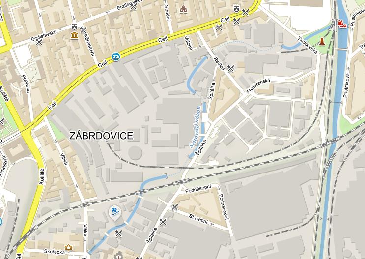 Rozvojová oblast Zábrdovic - Špitálky