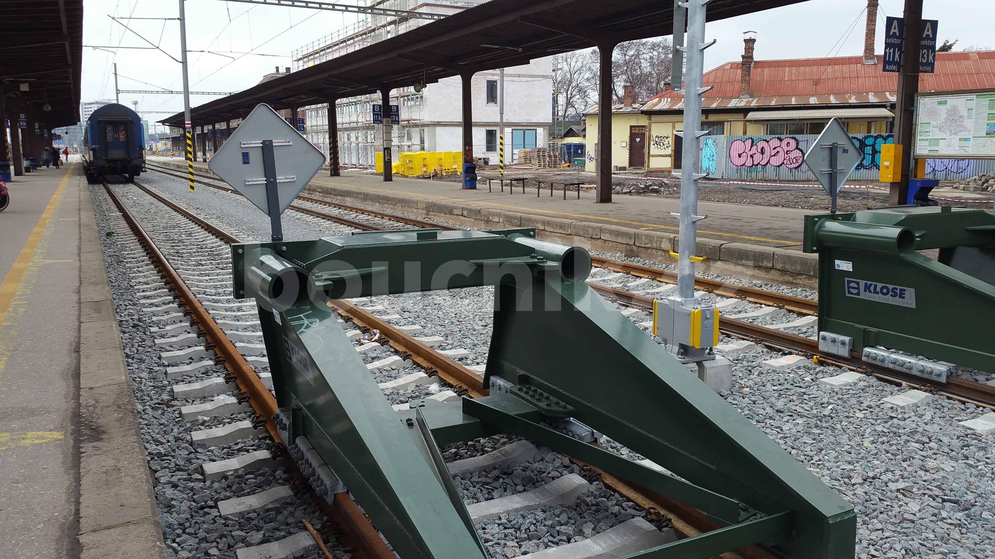 Nová zaráždedla na brněnském horním, hlavním, nádraží