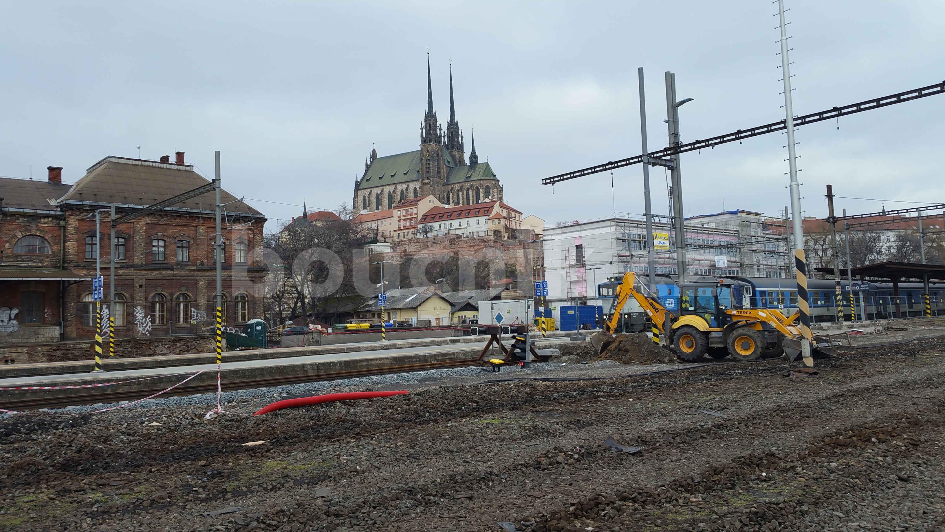 Nová budova SŽDC v Brně