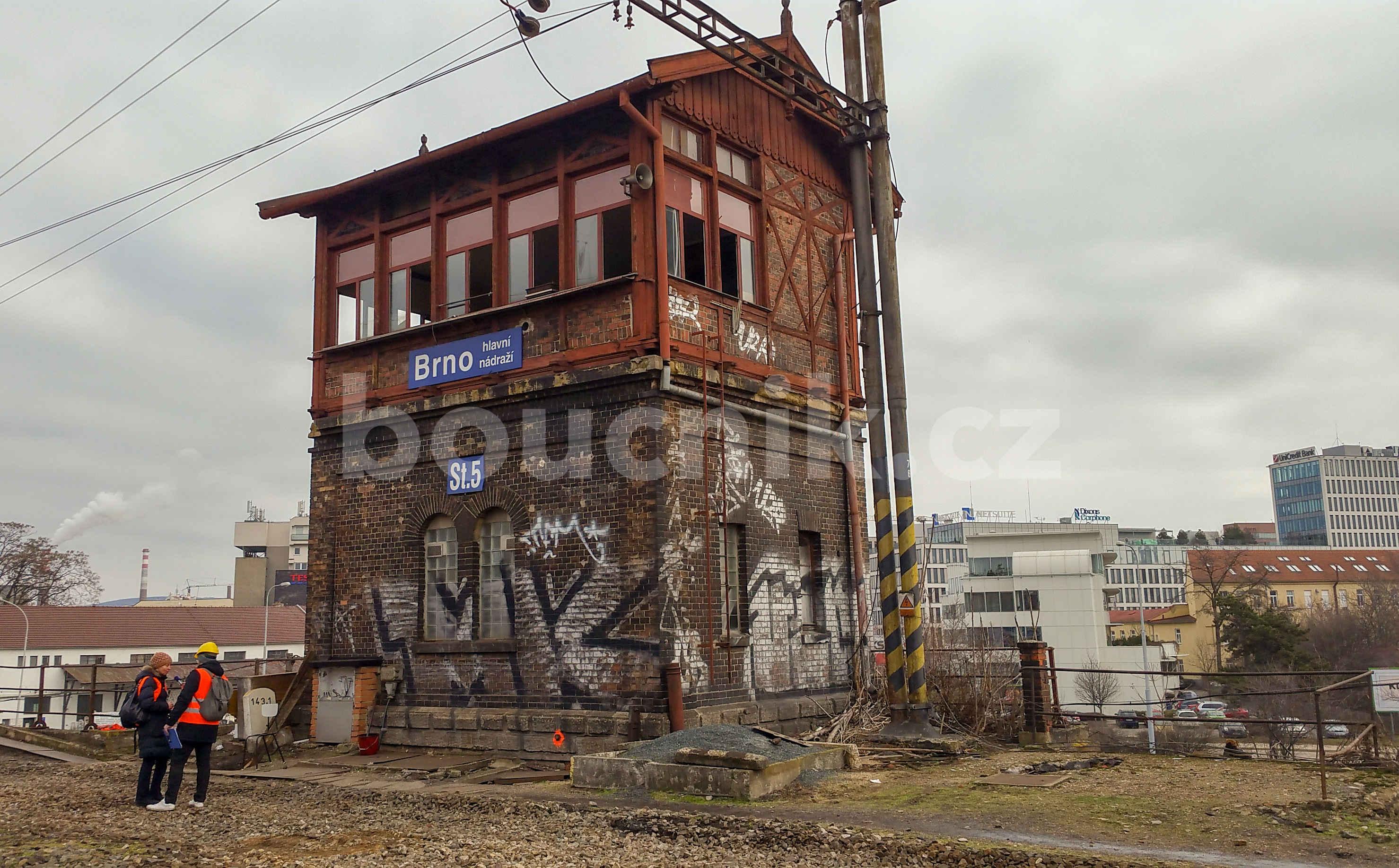 Stavědlo číslo pět na brněnském horním nádraží