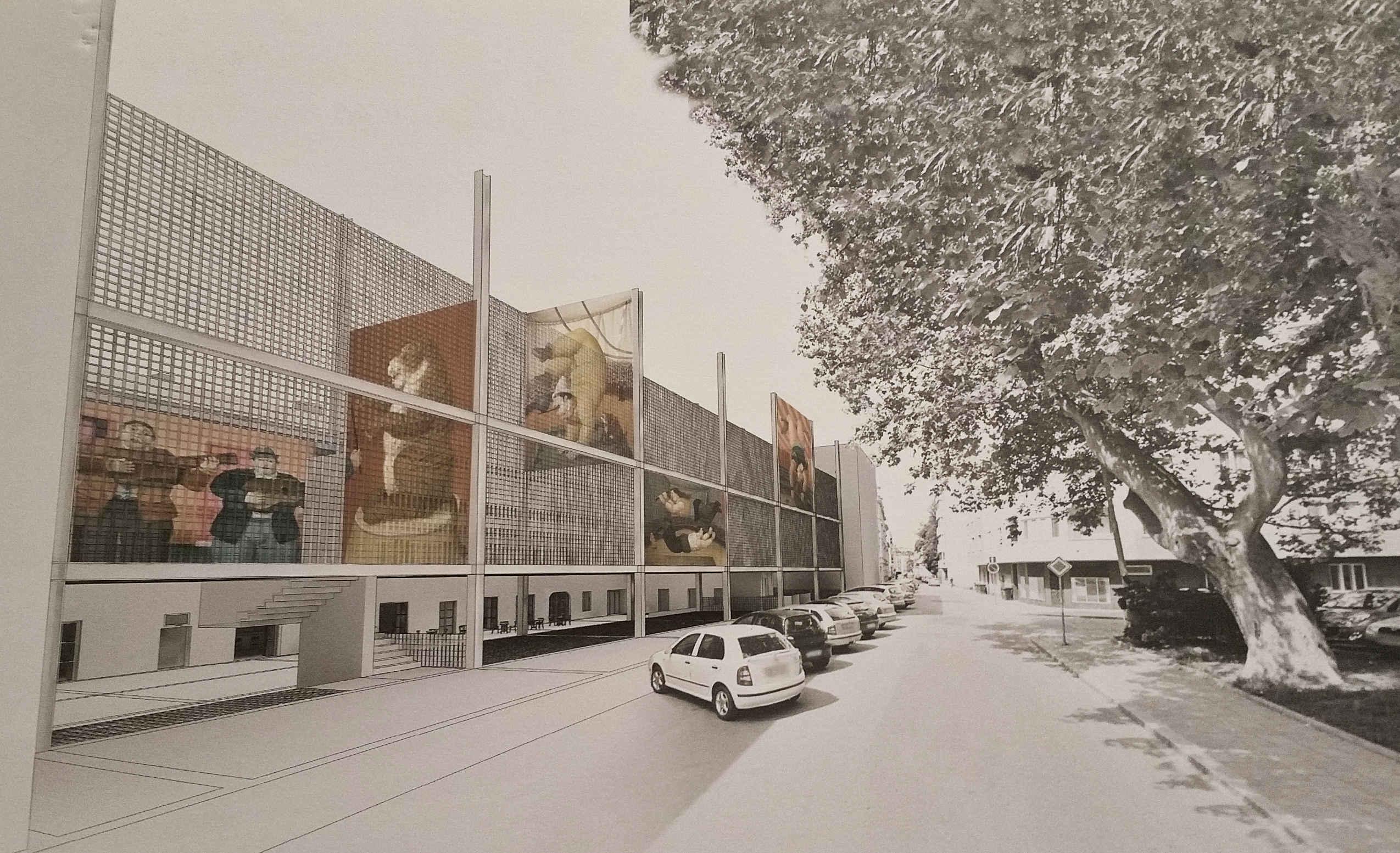 Kreativní centrum v místě káznice na Cejlu