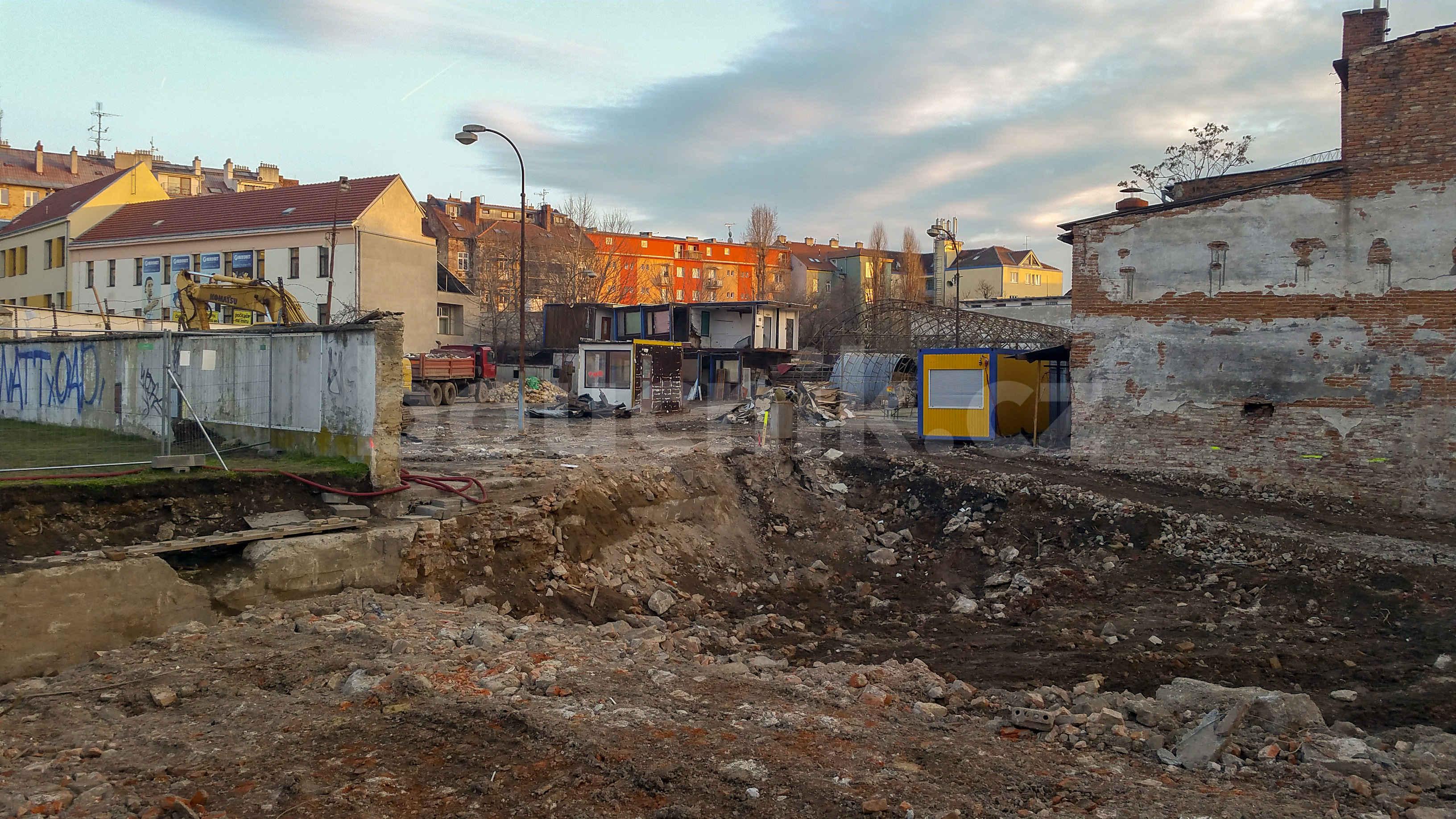 Archeologické nálezy na ulici Křenová v Brně