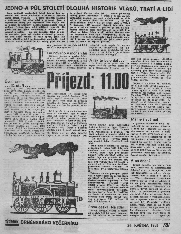 150 let železnice v Brně