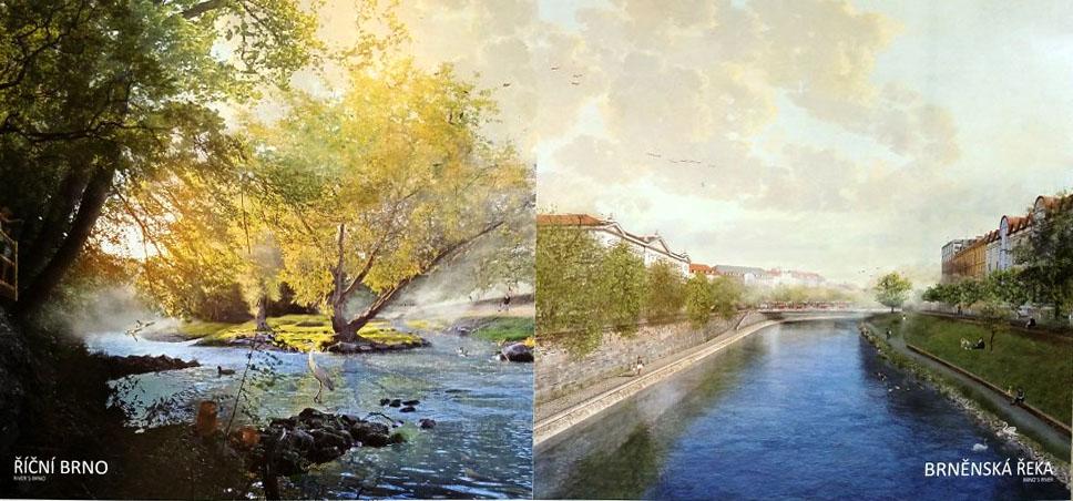 Linda Boušková - řeka Svratka
