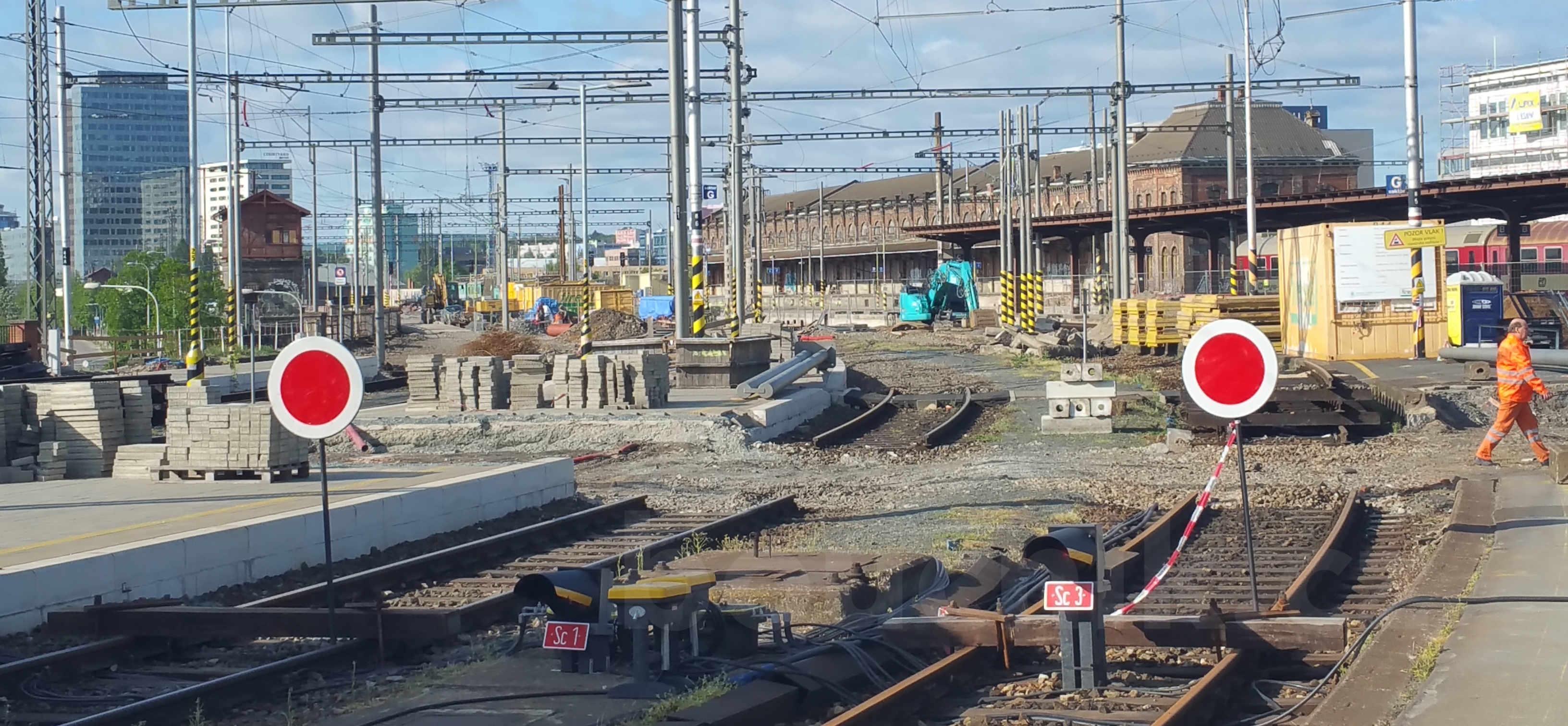 Brněnské horní nádraží, 2019