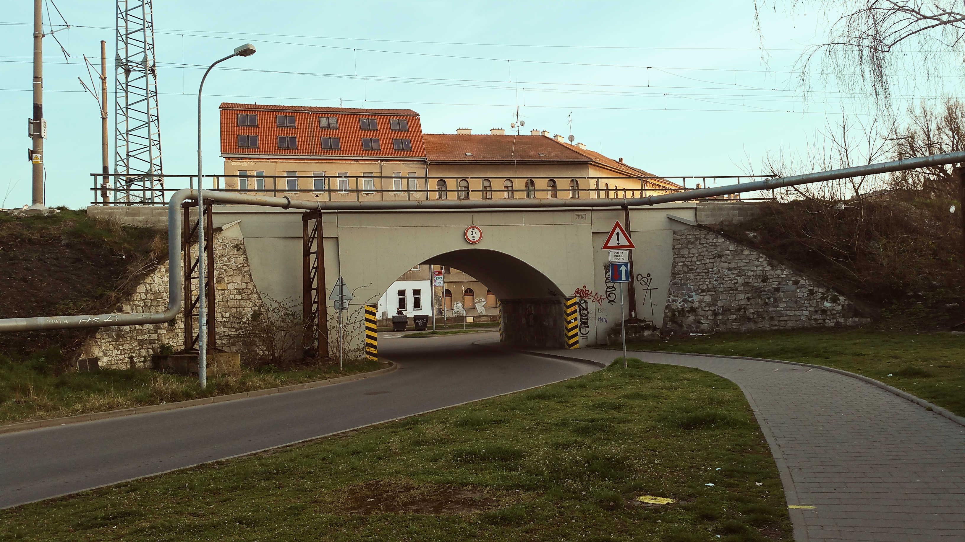 Tunýlek Špitálky Brno