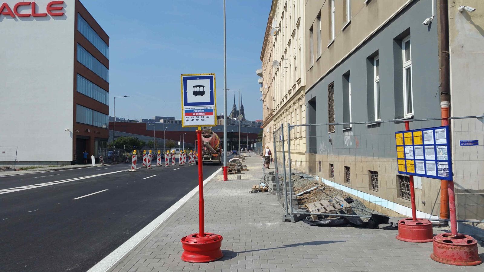 Zastávka Oracle v Brně