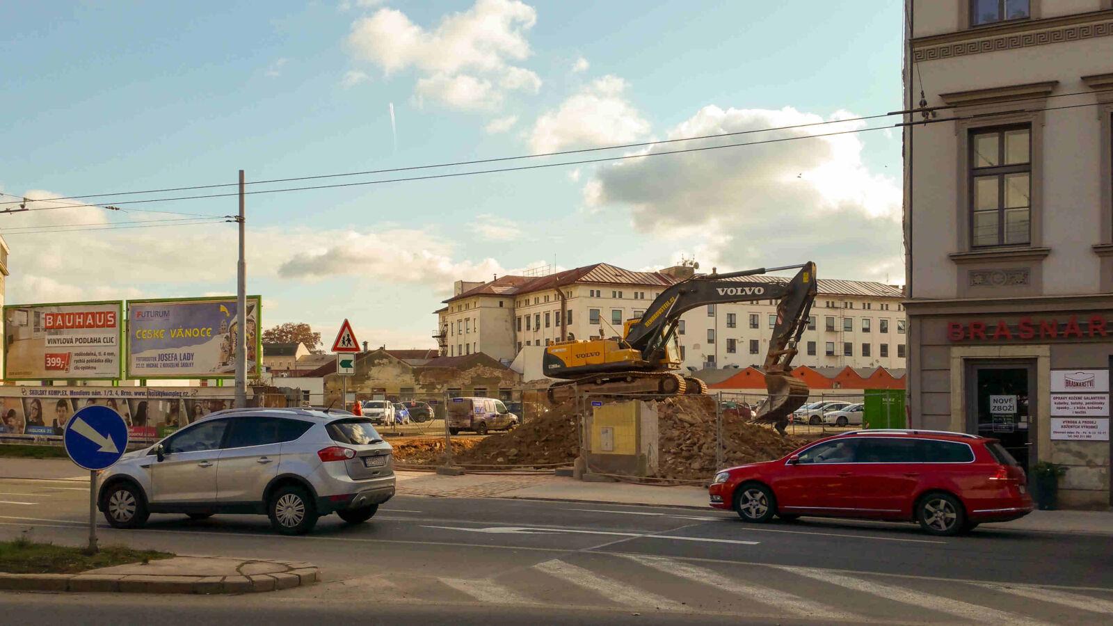 Mendlovo náměstí v Brně, bourání v roce 2019