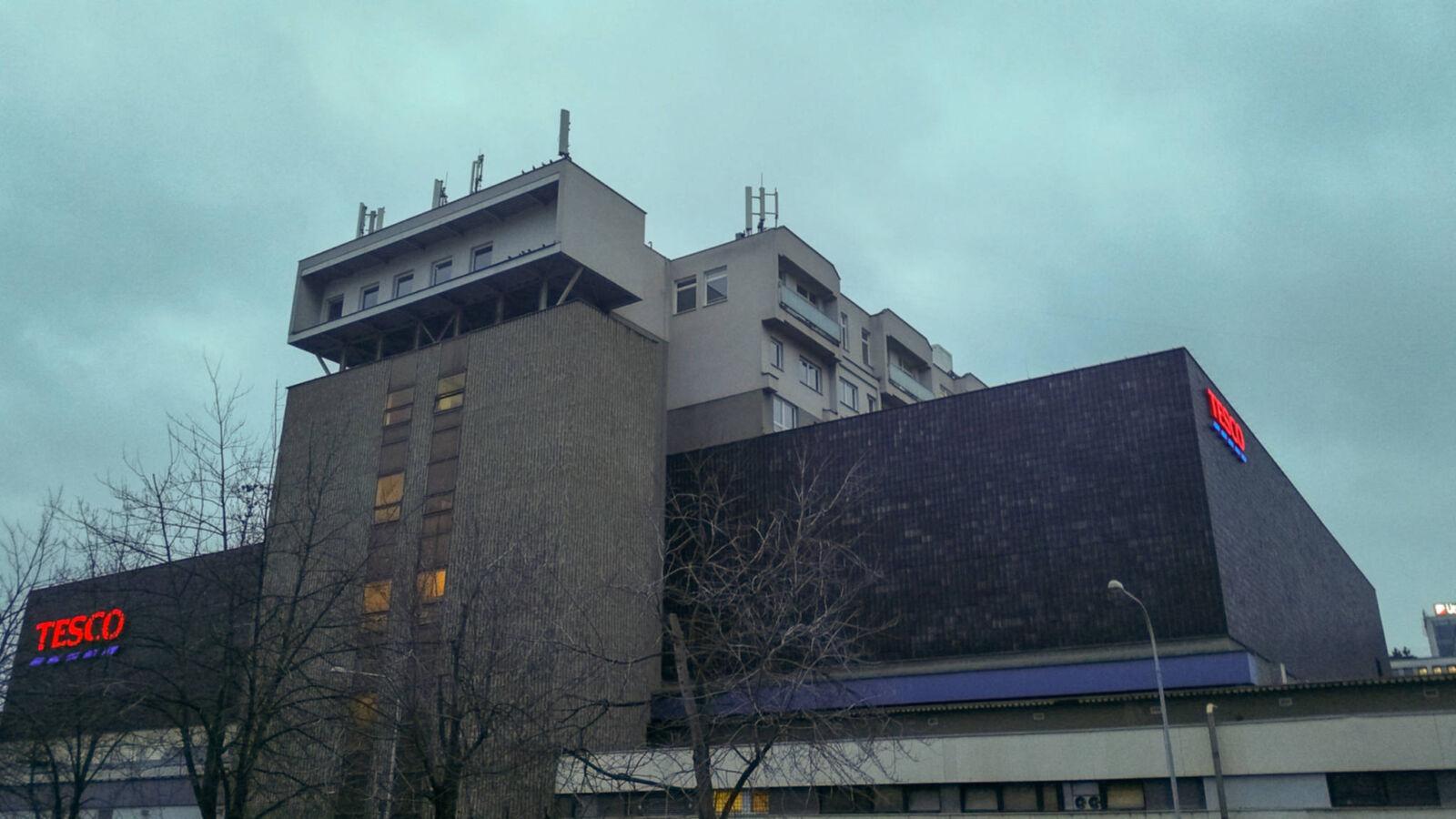 OD Prior v Brně, staré Tesco
