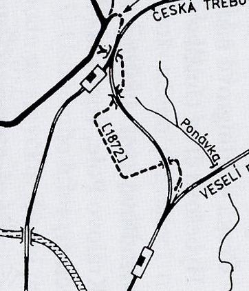 Nákladní šalina z Dolního nádraží na Horní nádraží