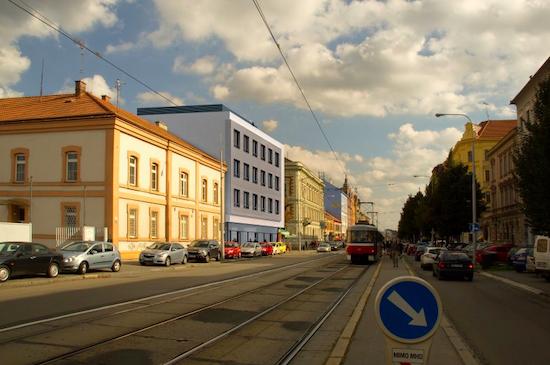 Vizualizace domu Štefánikova 30