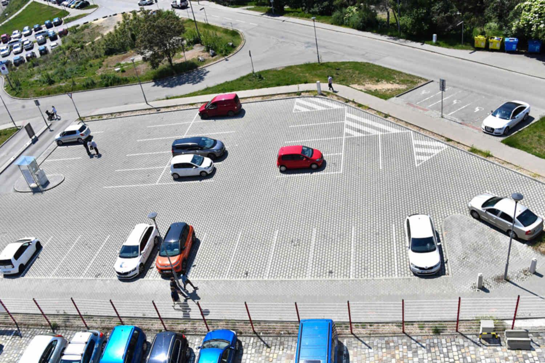 Parkovací dům na Polní v Brně