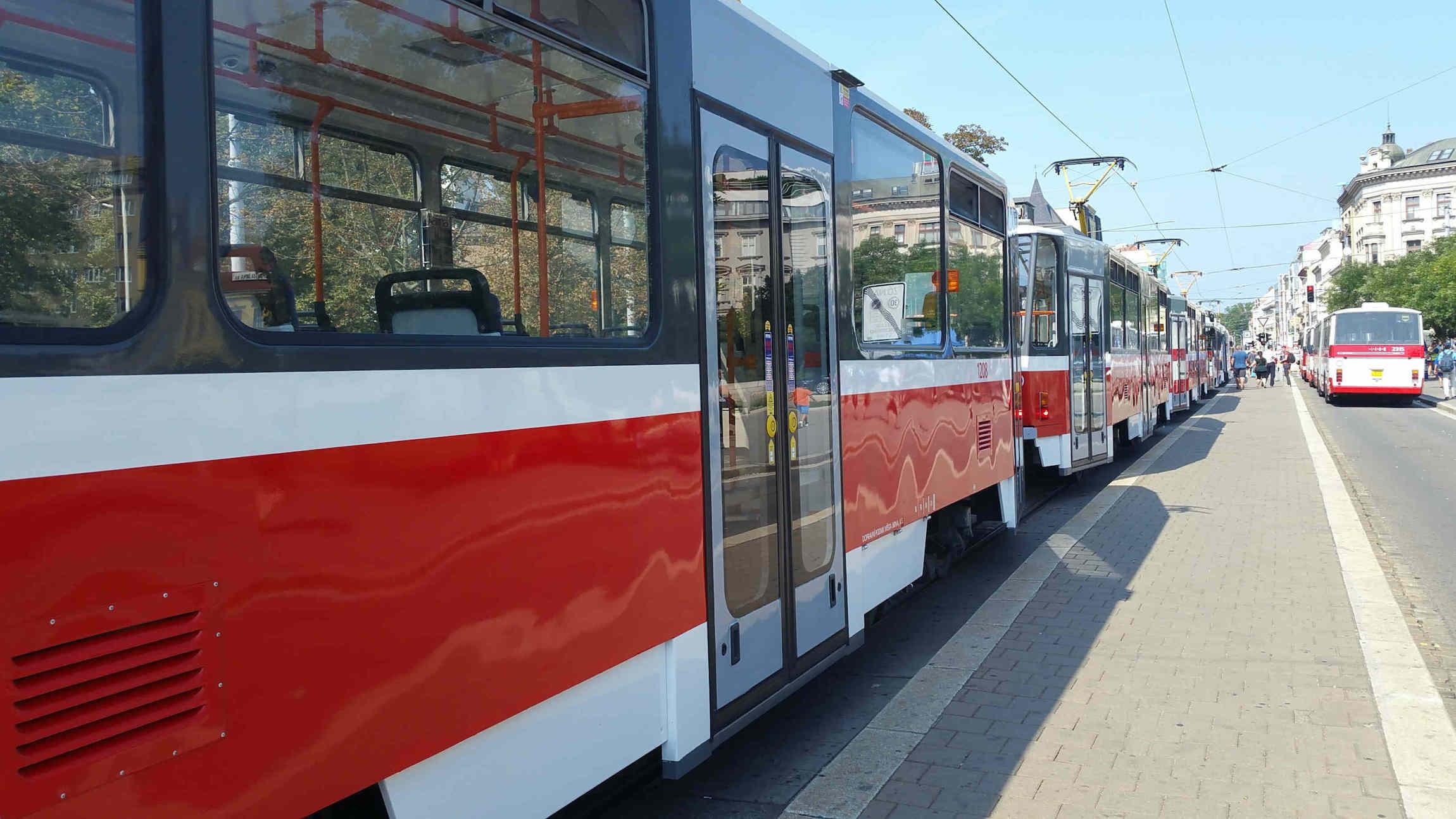Oslavy 150 let MHD Brno