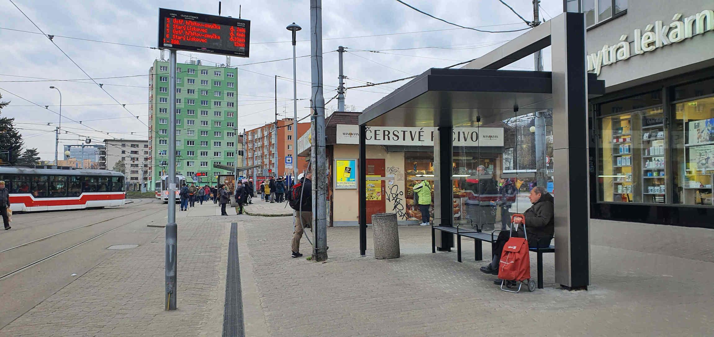 zastávka Mendlovo náměstí
