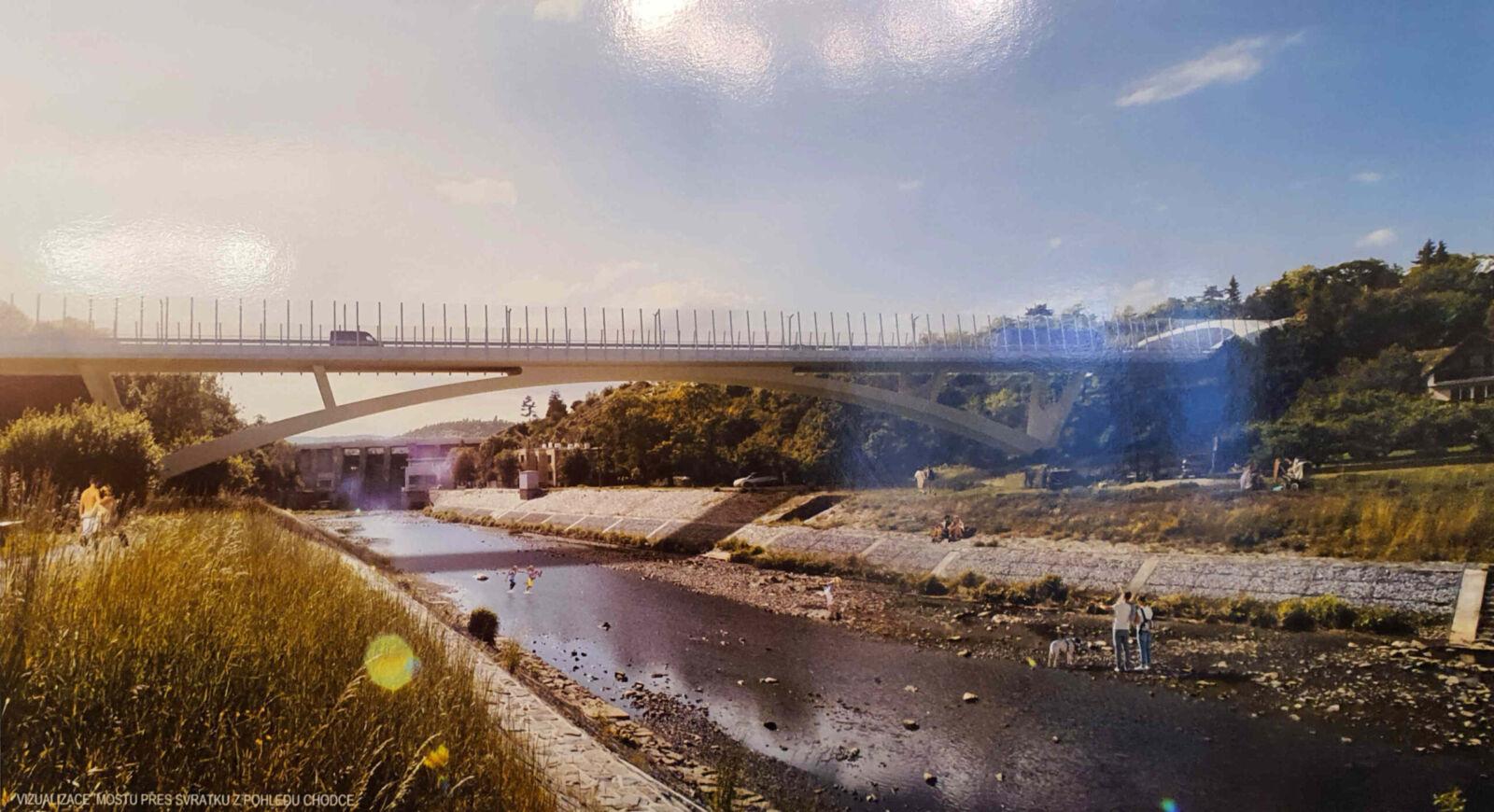 Dálniční most v Bystrci