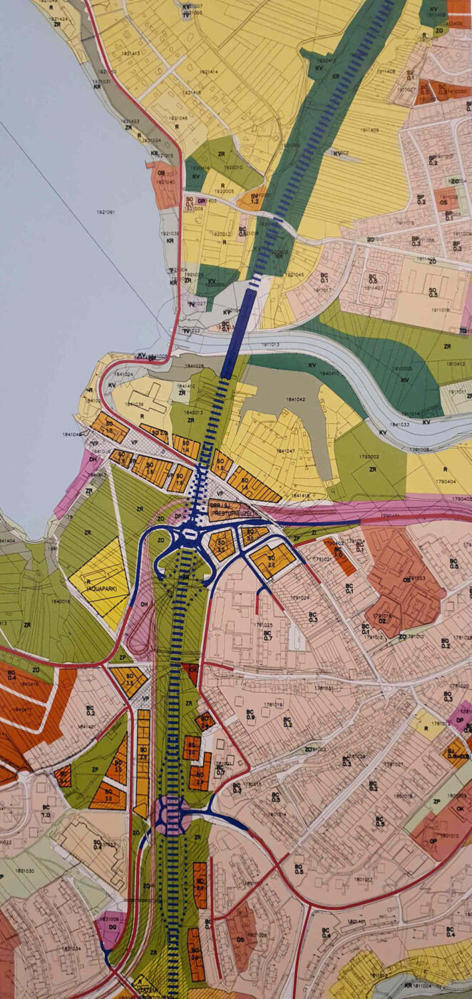 Tunelové vedení dálnice R4š
