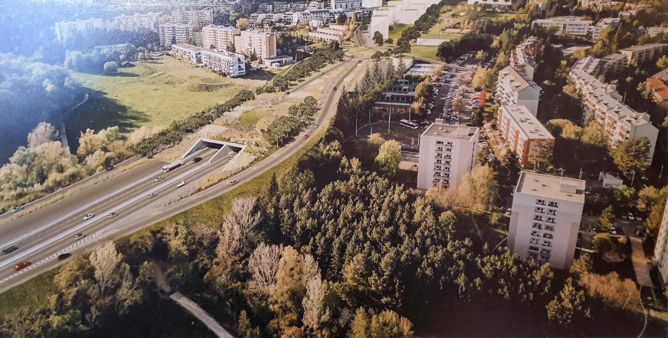 Silnice R43 pod Bystrcí