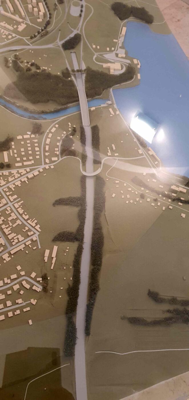 Plán vedení dálnice D43 z roku 2006
