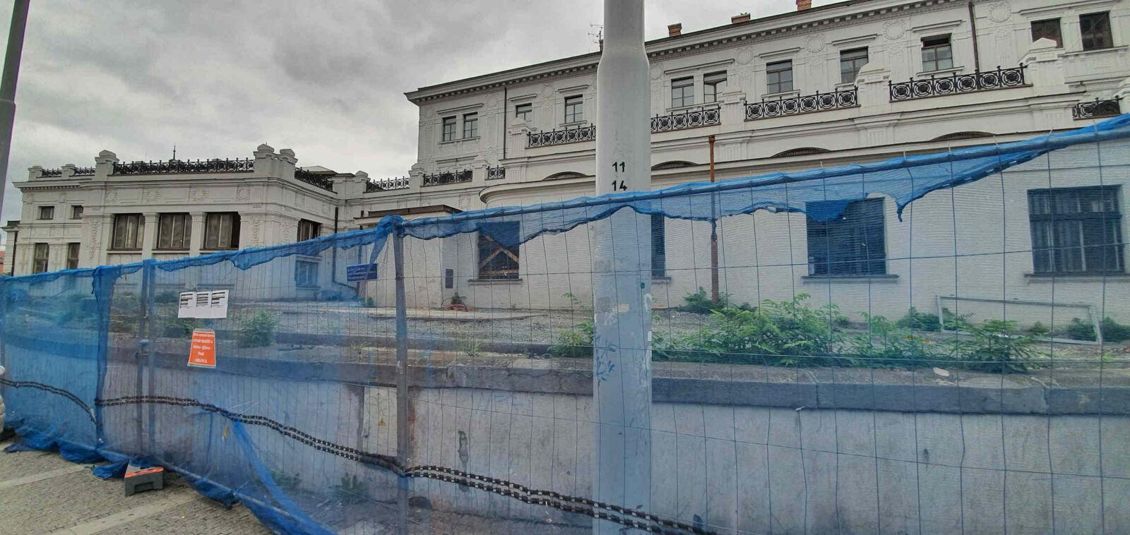 Opravy brněnského hlavního nádraží na podzim 2020