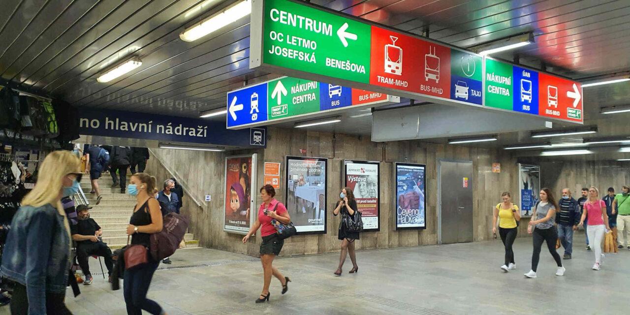 Podchod pod hlavním nádražím