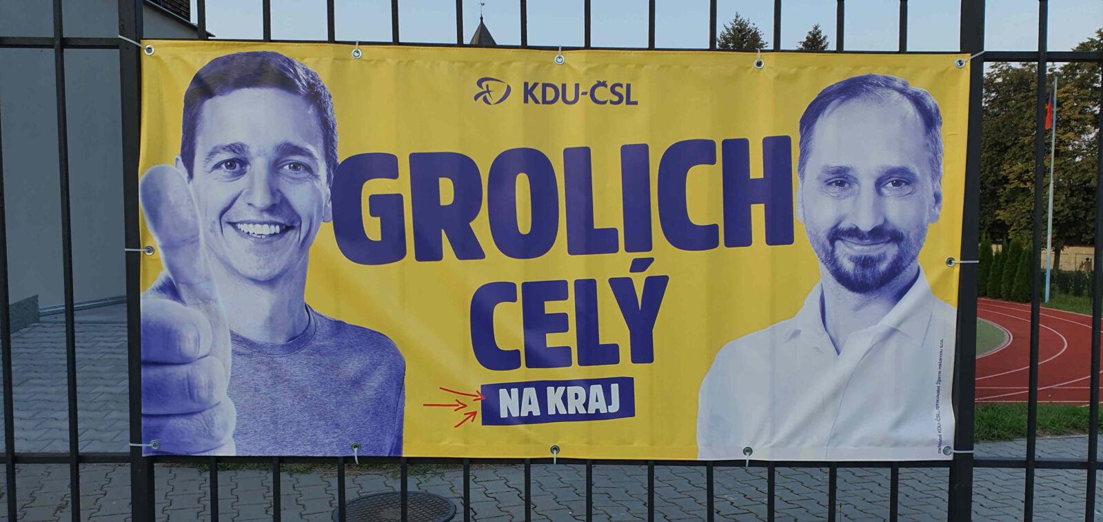 Volební kampaň KDU-ČSL pro rok 2020