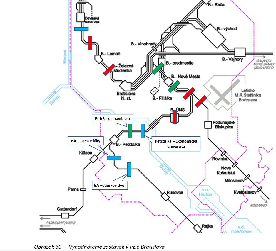 Studie proveditelnosti Železničního uzlu Bratislava - nové stanice